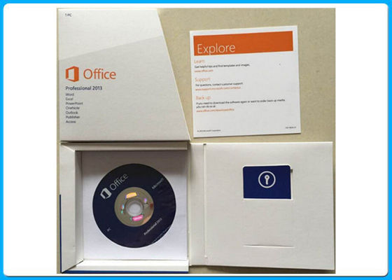 Çin Microsoft Office 2013 Professional 32 Bit 64 Bit 269 - 16094 DVD 1 PC Distribütör